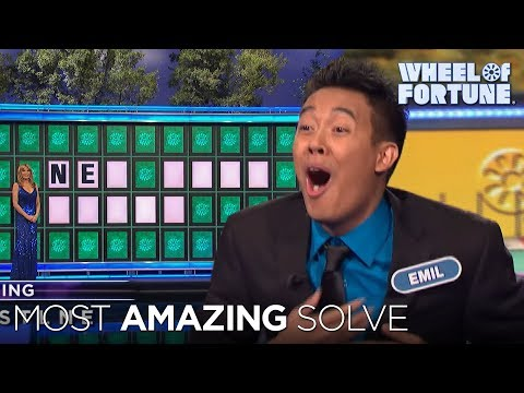Wheel of Fortune amazing Bonus round solve!
