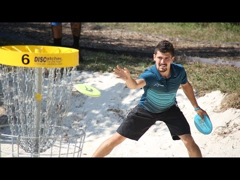 2014 U.S. Disc Golf Championship: Round 2 Lead Card (McBeth, Brown, Locastro, Sexton)