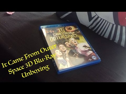 It Came From Outer Space 3D (UK) Blu-Ray Unboxing