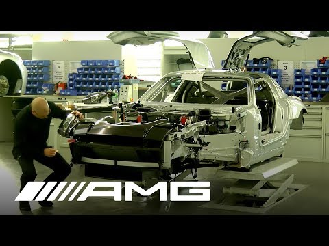 Mercedes AMG   SLS AMG GT3 Production Part 1: The Marriage | Video