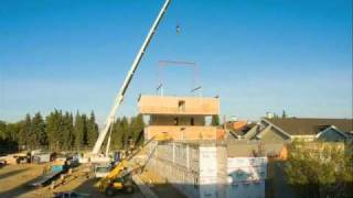 Saint Albert (AB) Canada  city pictures gallery : Modular Home Build of North Ridge Place in St. Albert, AB, Canada