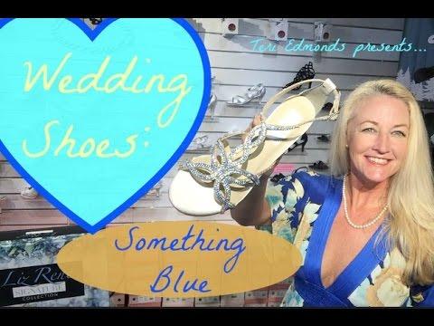 Wedding Shoes - Something BLUE