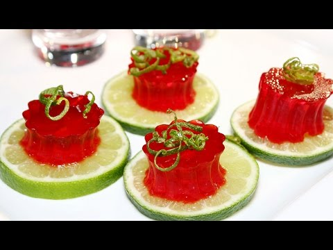 Receta. Jelly shots