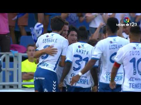 Resumen de CD Tenerife vs Getafe CF (1-0)