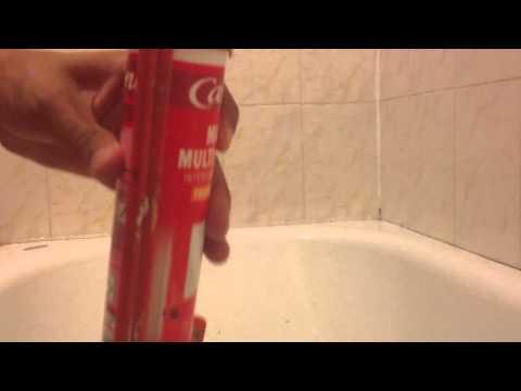 comment appliquer silicone douche