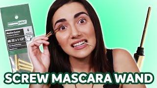 Video Stainless Steel Mascara Wand vs Screw MP3, 3GP, MP4, WEBM, AVI, FLV September 2019