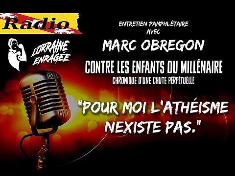 Interview: Contre les Enfants du Millénaire, avec Marc Obregon