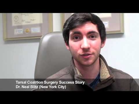 Sean: Revision Tarsal Coalition Surgery