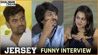 Jersey Movie Team Funny Interview    Nani,Shraddha Srinath