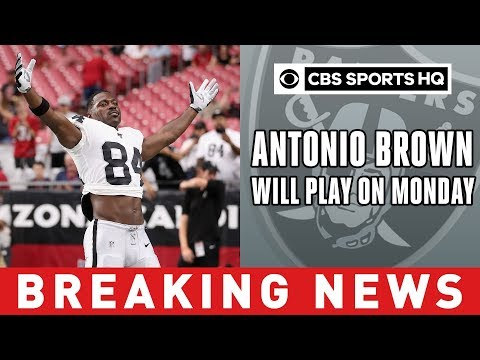 Video: Jon Gruden Says Antonio Brown Will Play For Raiders In Week 1 Against Broncos | CBS Sports HQ