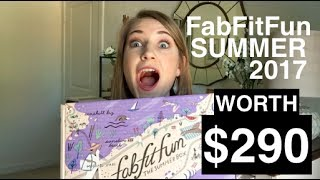 Interested in what's in the FabFitFun Summer 2017 box? Take a look inside the Summer 2017 FabFitFun box with me to see if you...