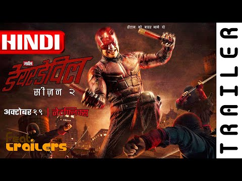 Marvel's Daredevil (2018) Season 3 Netflix Official Hindi Trailer #1 | FeatTrailers
