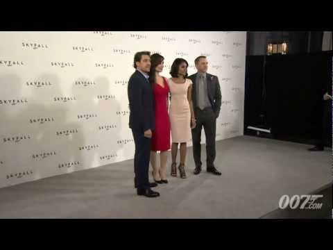 James Bond 007 - SKYFALL Photocall -