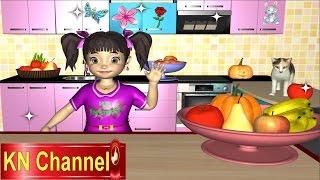 KN Channel xin giới thiệu video dạy bé học kiến thức xung quanh. Giúp bé hiểu được lợi ích của rau quả mà yêu thích ăn và...