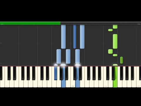 видео игры на фортепиано - Thinking Out Loud