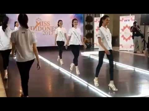 [Karantina #Day8] Fast Track Catwalk Miss Indonesia 2017