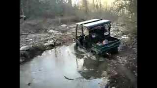 9. Kawasaki Mule 4010 Trans 4x4 Diesel Water Crossing