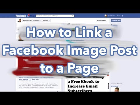 how to provide facebook link on website
