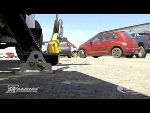 Winching a Forward Parked Vehicle-SP9000™ SidePuller™