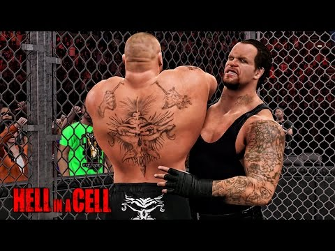 WWE 2K15 HELL IN A CELL 2015  - Undertaker Vs Brock Lesnar Hell In Cell Match - Hell In A Cell 2015
