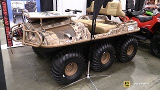 1. 2018 Argo 6x6 Frontier Amphibious Vehicle - Walkaround - 2017 Toronto Snowmobile ATV Show