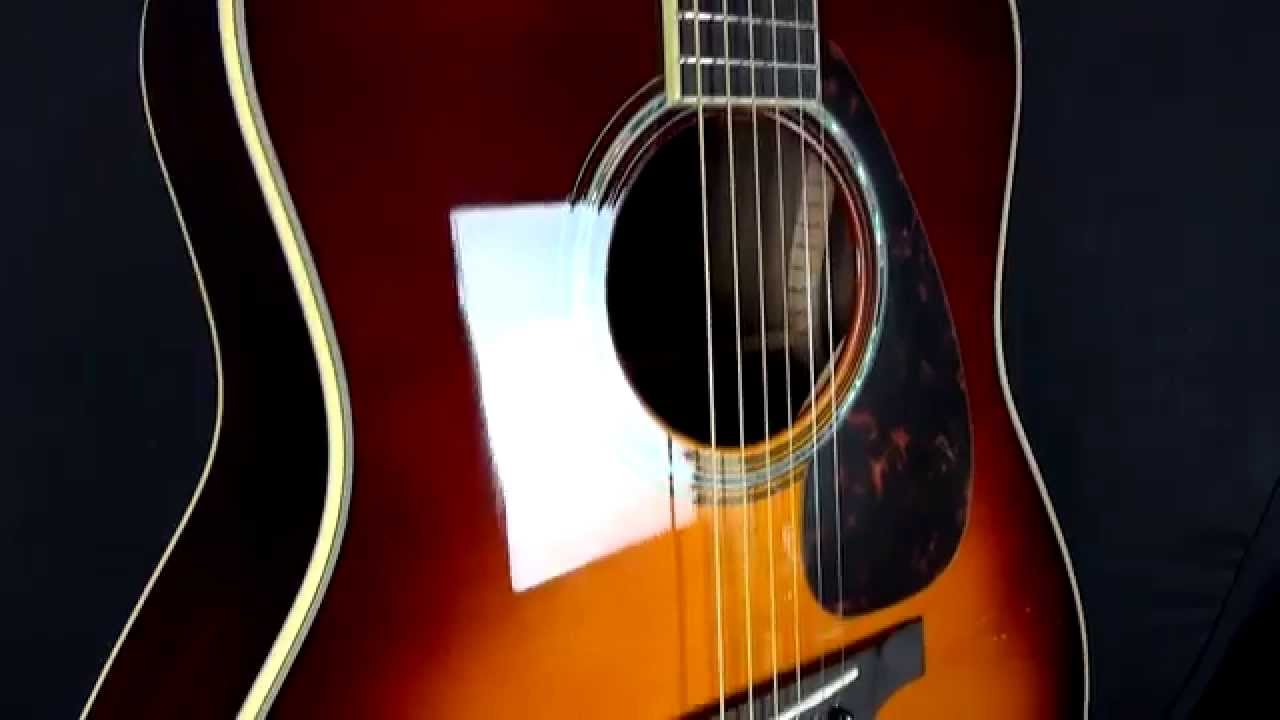 Yamaha LL6 ARE Electro Acoustic Guitar Review