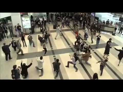 Beirut Duty Free Rocks Airport with Dabke Dance - Full Version