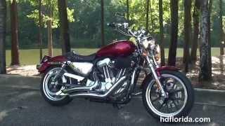 1. Used 2012 Harley Davidson Sportster Superlow Motorcycles for sale  - Jacksonville, FL