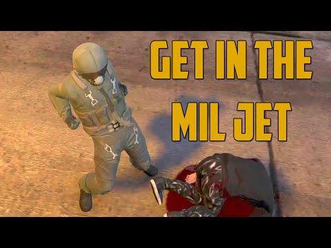 Jet - Enjoy the video? Be sure to subscribe: http://youtube.com/subscription_center?add_user=GoldGloveTV Ally: http://www.youtube.com/2mgovercsquared This is GTA V Online multiplayer gameplay!...