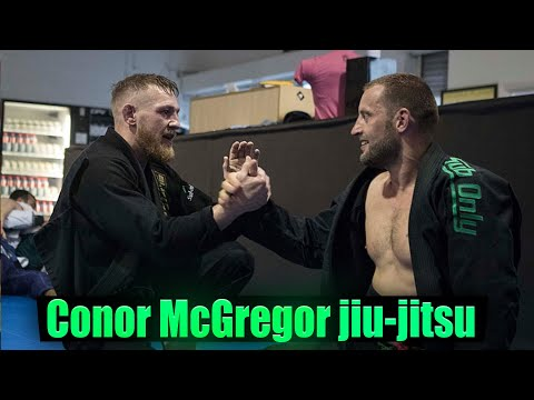 Conor Mcgregor doing not so good at grappling tournament