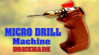 Learn how to make your own a very simple Micro/Mini Drill Machine at home using DC Motor, Micro Twist Drill Chuck, Drill Bit and On/Off Switch. This machine can be used to make holes in plastic sheet, wood, card board and thin metal etc.You can easily make this drill machine at home.Video Title: How to make Mini Drill Machine at home - DIY Homemade Micro Drill Machine - SIMPLEVideo Link: https://youtu.be/VEwM1kulgB0: For more creative project ideas follow my  YouTube channelLINK: http://www.youtube.com/channel/UCVrNsmJyqX_lpG5QBJqDrLgFacebook:Link: http://www.facebook.com/scientificthemes/?ref=bookmarksAlways happy to hear from you! Your comments, shares and all other interactions are most welcome. Hope you enjoy the video.Please LIKE and SUBSCRIBE. Thank you for Watching.