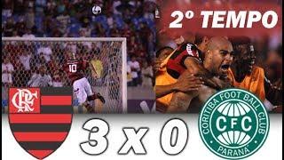 Flamengo 3 x 0 Coritiba * 2º Tempo Completo * Brasileiro 2009