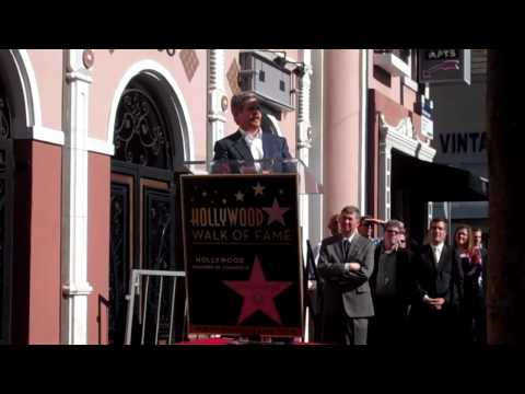 John Wells Walk of Fame Ceremony