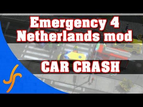 Emergency 4 Netherland Mod version 3.0 Alpha - Car crash