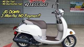 6. 2015 Honda Metropolitan 50 cc Scooter Review of Specs - SALE @ Honda of Chattanooga TN