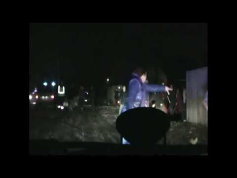 Опубликовано видео нападения цыган на брянскую полицию