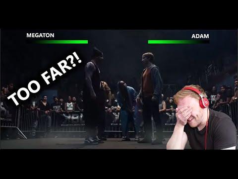 "UK RAPPER REACTS   ""BODIED"" FINAL BATTLE - ADAM VS MEGATON"