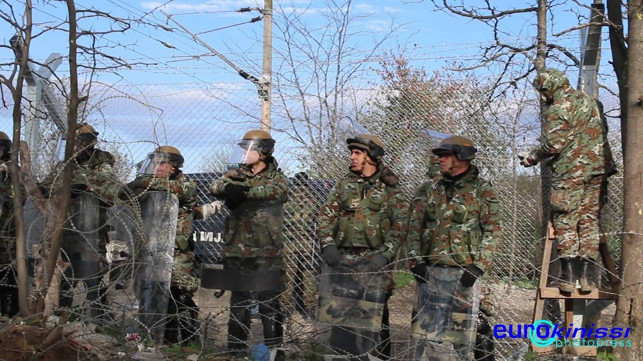 Συνεχίζεται η κατασκευή του φράχτη στα ελληνοσκοπιανά σύνορα