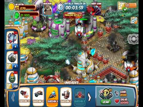 Galaxy life Game play: Mercenarios (Mercenary smasher squad)