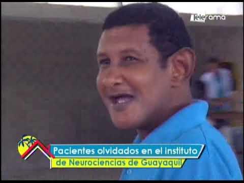 Pacientes olvidados en el instituto de neurociencias de Guayaquil