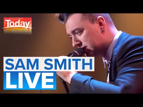 Sam Smith performs 'I'm Not The Only One' (видео)