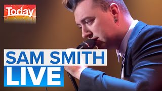 Sam Smith performs 'I'm Not The Only One'