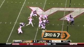 Jayron Hosley vs Clemson 2011 vs  (2011)