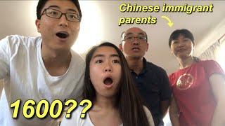 2018 PSAT + DEC SAT SCORE REACTION W/ MY ASIAN PARENTS