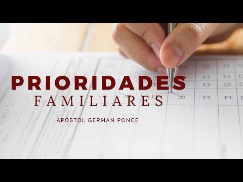 Apóstol German Ponce - Prioridades Familiares - Viernes 15 de Diciembre 2017 (видео)