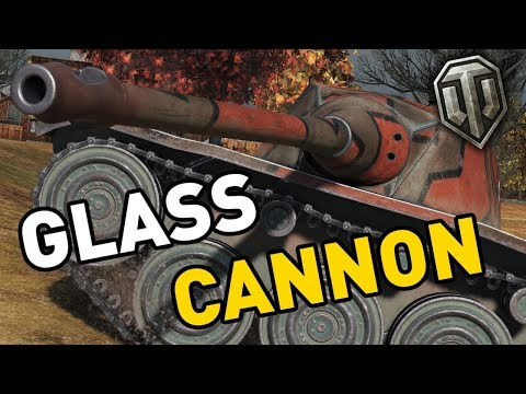 World of Tanks || Glass Cannon!