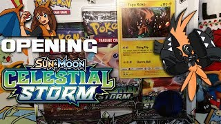 Wish Upon a Star - Opening a Shiny Tapu Koko Celestial Storm Blister Pack of Pokemon Cards! by Flammable Lizard