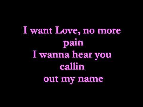, title : 'Rihanna - I want Love Lyrics♥'