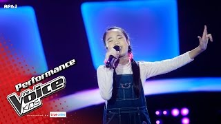 Download Lagu กุ้งเต้น - ความหวาน  - Blind Auditions - The Voice Kids Thailand - 21 May 2017 Mp3