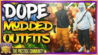 "GTA 5 Online HOW TO CREATE A DOPE MODDED OUTFIT Using Clothing Glitches After Patch 1.40 (Modded Outfit Glitch) (Xbox One, Ps4, PC) ♛ DIRECTOR -  JoshMods  (Help Him Get 9K) ► http://bit.ly/SubToJoshMods ◄►ROAD TO 150K! Join the #PrestigeFam and Subscribe! ✔🔔👆Turn on Post Notifications👆🔔✔ http://bit.ly/SubToPmHD► The Prestige Community WEBSITE - Submit videos, Cheap GFX & More! http://prestigecommunity.weebly.com/ ▬▬▬▬▬▬▬▬▬ஜ۩♛ DOPE GFX, INSTANT GTA CASH & RANK,  COD RECOVERIES AND MORE!  ♛۩ஜ▬▬▬▬▬▬▬▬▬★ For Cheap, Reliable GTA V Accounts and INSTANT GTA Cash + Rank: ​https://goo.gl/PPD27p ★ For Cheap Games, Call of Duty Modded Accounts and Recoveries, In-game items, gaming accessories and more! https://goo.gl/rvjMQK Use code - 'PMHD' for 5% OFF!★ Need Intros or GFX? Buy Cheap Professional Designs from PrestigeStudios! (My team) http://prestigecommunity.weebly.com/gfx-shop.html▬▬▬▬▬▬▬▬▬ஜ۩♛ Join The Prestige Community ♛۩ஜ▬▬▬▬▬▬▬▬▬▼ Want to be Featured on PmHD? ▼Subscribe and Submit your Glitches, Tips and Tricks videos to our website! http://prestigecommunity.weebly.com/submit-your-videos--contact.htmlTwitter: https://twitter.com/PrestigeMontageFB: http://bit.ly/PmHDFBSubscribe: https://www.youtube.com/c/PmHD?sub_confirmation=1♛ Subscribe to our Prestige Channels ♛PmHD (100K+ GTA): https://www.youtube.com/c/PmHD?sub_confirmation=1PrestigeGaming (15K+ Gaming): https://bitly.com/SubPrestigeGamingPrestigeMusick (8K Music): http://www.youtube.com/PrestigeMusick?sub_confirmation=1  PrestigeStudios (GFX/INTROS): http://bit.ly/SubPrestigeStudios PrestigeComedy (22K Entertainment): http://bit.ly/SubPrestigeComedy▬▬▬▬▬▬▬▬▬ஜ۩♛ INTRO SONG ♛۩ஜ▬▬▬▬▬▬▬▬▬My Music channel: https://www.youtube.com/user/PrestigeMusick  Intro song - https://www.youtube.com/watch?v=ZeLeAgQ_DtoOutro Song - https://www.youtube.com/watch?v=BbZP3zCLBrM▬▬▬▬▬▬▬▬▬ஜ۩♛ 10 Popular GTA 5 Online GunRunning DLC Glitches Not to Miss! ♛۩ஜ▬▬▬▬▬▬▬▬▬► GTA 5 Online TOP 10 GLITCHES 1.40! (NEW) 10 BEST WORKING GLITCHES GTA 5 1.40 (Top 10 Glitches 1.40) http://youtu.be/NeCoPZe9SKk► GTA 5 Online TOP 10 CLOTHING GLITCHES 1.40! NEW BEST 10 GUNRUNNING Outfit Glitches! Top 10 Glitches 1.40 http://youtu.be/w-VCsr8F7gM► GTA 5 Online TOP 5 GLITCHES 1.40! (NEW) FREE $30,000,000 GLITCH, 100% INVISIBLE BODY, RARE CLOTHING! http://youtu.be/-g17pseXp7E ► GTA 5 Online TOP 5 CLOTHING GLITCHES 1.40! *NEW* DIRECTOR MODE GLITCH 1.40, RARE JOGGERS, INVISIBLE ARMS! http://youtu.be/7tBluIaowgk► FINALLY! GTA 5 Online ''XBOX ONE'' & PS4 DIRECTOR MODE GLITCH 1.40! SOLO GTA 5 ''Money Glitch 1.40'' http://youtu.be/r-YbkDu1r-k► GTA 5 CHECKERED OUTFIT GLITCH 1.40! (NEW) SOLO 'CHECKERBOARD OUTFIT' TUTORIAL GTA 5 Online 1.40 https://www.youtube.com/watch?v=63XipThzvAY► OMG! NEW $10,000,000 /HR ''SOLO'' MONEY GLITCH! GTA 5 Online 1.40 *SOLO* ''UNLIMITED MONEY GLITCH'' http://youtu.be/8Ev84bLKHYE► GTA 5 RP GLITCH 1.40! *SOLO* ''UNLIMITED RP GLITCH 1.40'' Level Up FAST AND EASY 1.40 (PS4/Xbox /PC) http://youtu.be/edYOw7g-XAs► GTA 5 GUNRUNNING GLITCHES 1.40! *NEW* MILITARY ''MODDED OUTFIT GLITCH 1.40'' (Clothing Glitches 1.40) http://youtu.be/dtMbuEDpvP8► GTA 5 Online TOP 3 MODDED OUTFITS 1.40! GUNRUNNING Modded Outfit Glitches Using Clothing Glitches! https://www.youtube.com/watch?v=jjUQeyxYwp0▬▬▬▬▬▬▬▬▬ஜ۩♛ A Personal Note From Xav ♛۩ஜ▬▬▬▬▬▬▬▬▬ Hey #PrestigeFam! Thanks for watching guys! Help us reach 150,000 Subscribers by rating the videos and leaving feedback! Subscribe if you're new here for the best and latest Gaming Glitches, tips and tricks! Stay tuned, Stay Prestige ✌️✌️#PrestigeFam #PrestigeCommunity-Xav, PmHD♛ Fair Use Disclaimer:♛ COPYRIGHT DISCLAIMER UNDER SECTION 107 OF THE COPYRIGHT ACT 1976 - Copyright Disclaimer Under Section 107 of the Copyright Act 1976, allowance is made for ""fair use"" for purposes such as criticism, comment, news reporting, teaching, scholarship, and research. Fair use is a use permitted by copyright statute that might otherwise be infringing. Non-profit, educational or personal use tips the balance in favor of fair use"